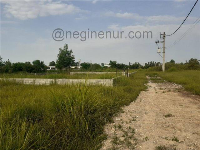 فروش زمین با 100 میلیون امیرآباد نور