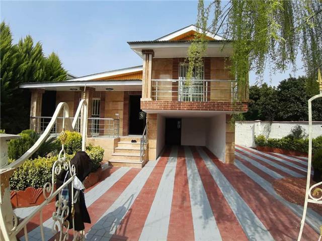 خرید ویلا باغ نیم پیلوت شهرکی در آمل