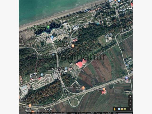 فروش زمین 5000 متری با مجوز هتل در محمودآباد
