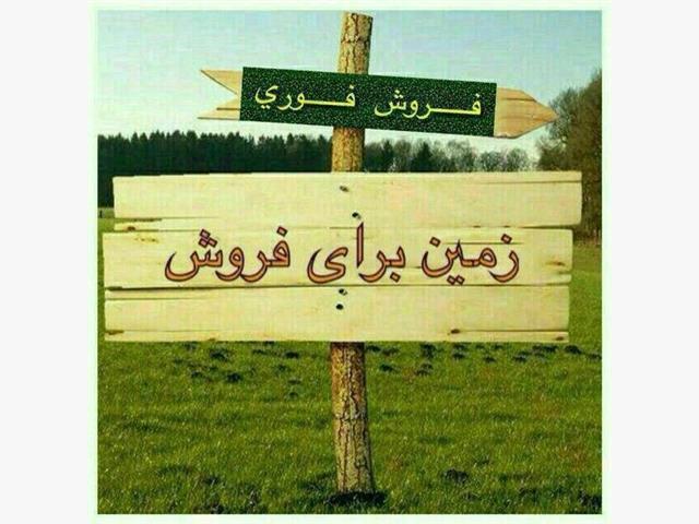 فروش زمین چسبیده به جنگل آهودشت