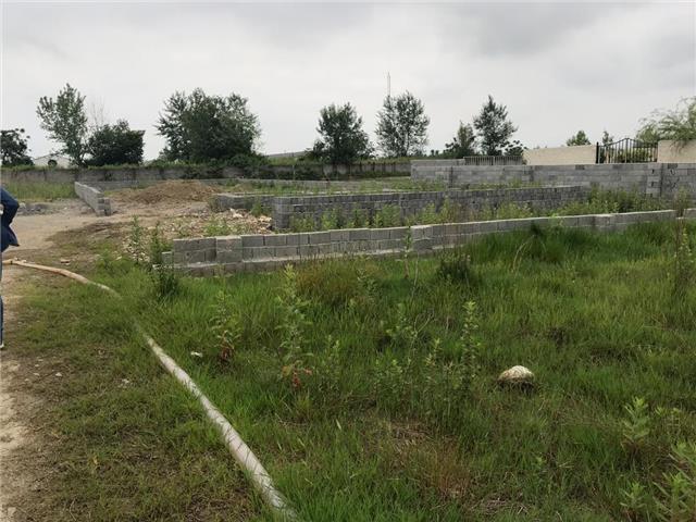 فروش زمین222متری ارزنده قابل ساخت داخل شهرک باران